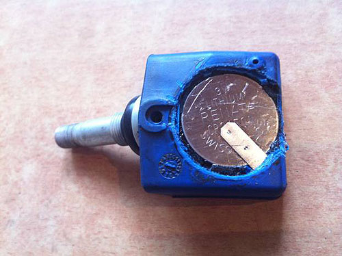 Ремонт датчика давления в шинах своими руками